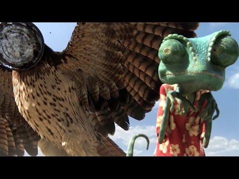 Rango Trailer HD Full Movie ♂ Rango Eaten By Eagle♂