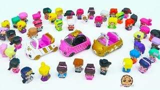 Limited Edition Rare Hard To Find Cutie Cars with Mini Shopkins Riders - Cookie Swirl C