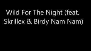 Wild For The Night (feat. Skrillex & Birdy Nam Nam)