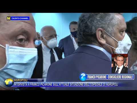 Intervista a Franco Picarone sull'attuale situazione dell'ospedale di Agropoli
