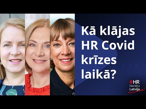 Kā klājas HR Covid krīzes laikā?