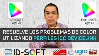Resuelve los problemas de color con Perfiles ICC DeviceLink, ejemplo Fogra 39 a Fogra 51