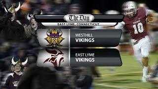Full replay: Westhill at East Lyme football