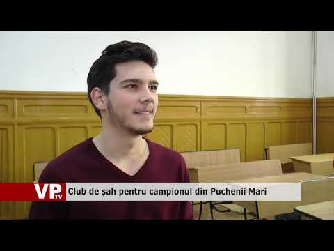 Club de șah pentru campionul din Puchenii Mari
