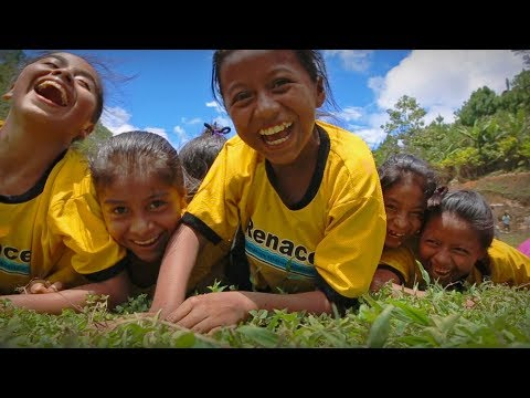 Aquí el fútbol también es asunto de niñas