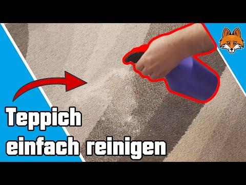 Teppich reinigen mit Backpulver - Schneller Trick 💧