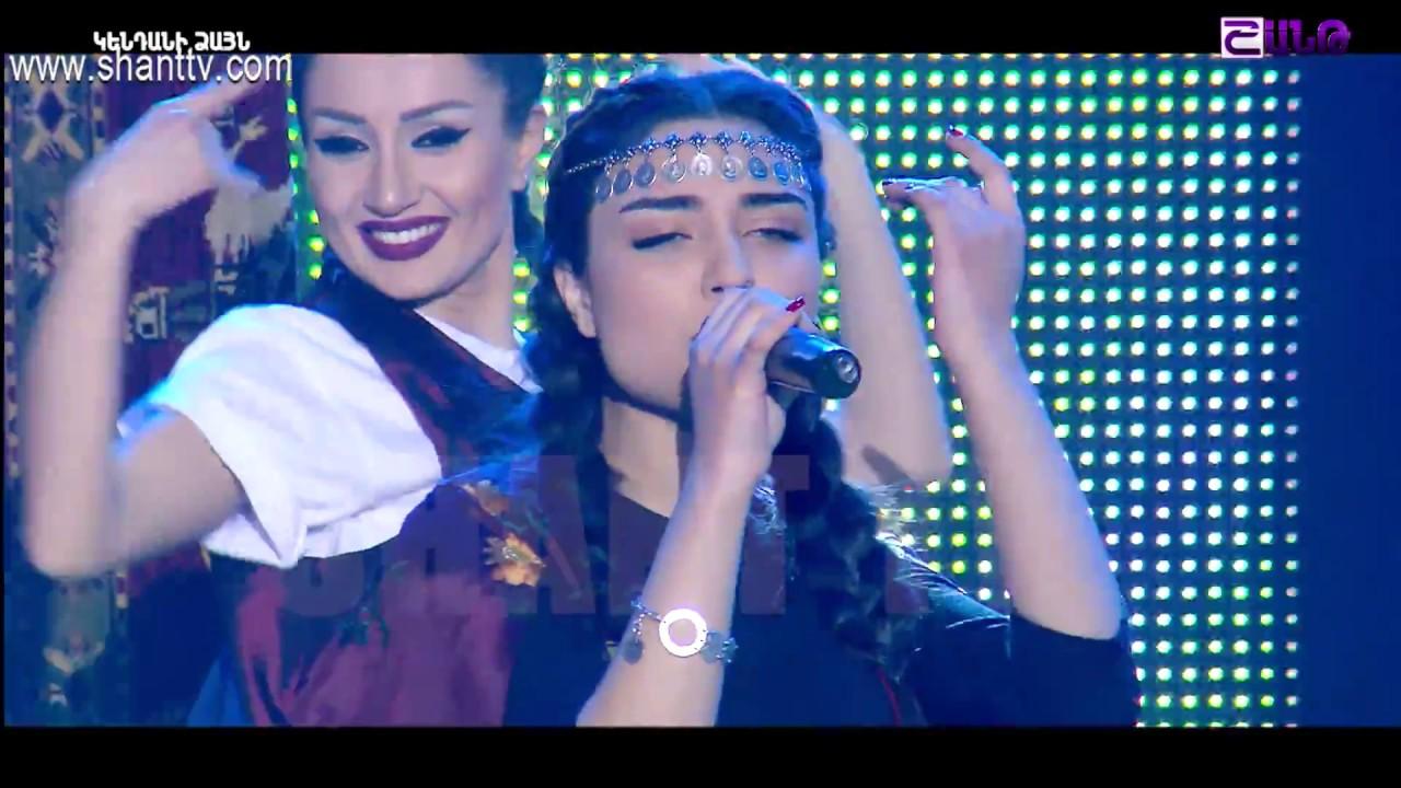 X-Factor4 Armenia-Gala Show 2-Emanuel & Mariam-Ampi takic jur e galis 26.02.2017