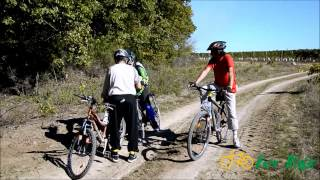 preview picture of video 'TURA CU BICICLETELE PRIN VIILE RECAS 20 octombrie 2012'