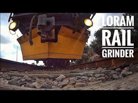 🔥KCSM Morelia Conocimos el LORAM RAIL GRINDER (Esmerilador de rieles) Under train view