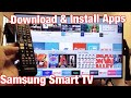 Samsung Smart TV: How to Download & Install Apps