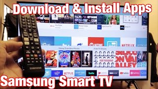 Where to download samsung tv apps