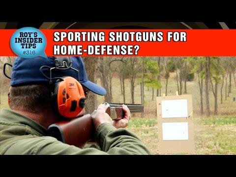 Sporting Shotguns For Home-Defense?