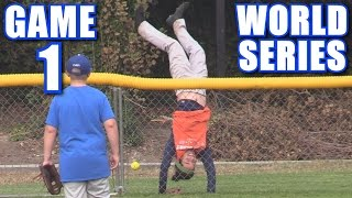 WORLD SERIES GAME 1!   On-Season Softball Series