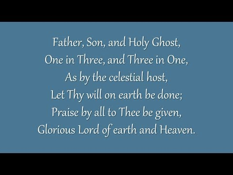 Father, Son and Holy Ghost (Metropolitan Tabernacle)