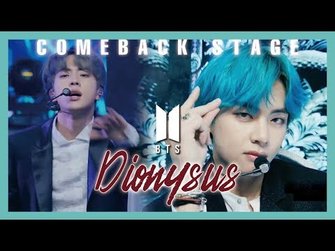 [Comeback Stage] BTS - Dionysus ,  방탄소년단 - Dionysus  Show Music Core 20190420