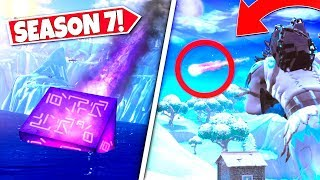 *NEW* UNKNOWN FLYING OBJECT *CONFIRMED* AS NEW CUBE CRASH LANDS OUTSIDE MAP! SEASON 7 UPDATE!: BR