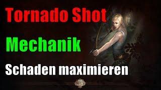 [3.1 HC] Tornado Shot Mechanik / Schaden maximieren - Path of Exile Abyss League [german / deutsch]