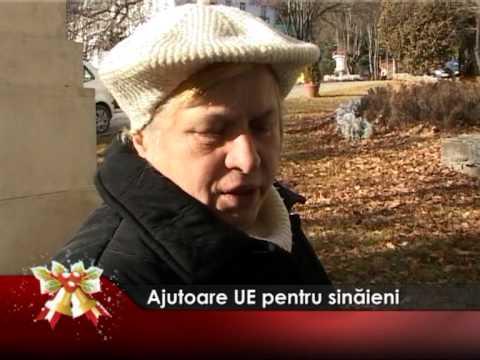Ajutoare UE pentru sinăieni