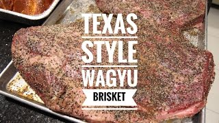 Texas Style Wagyu Brisket Smoked On A Yoder YS640 - Instructional Video