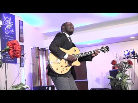 Agboola Shadare ministers at Jubilee Glory Tabernacle Convention 2014