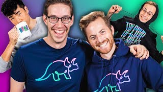 The Try Guys Reveal New Merch! (Fashion Show)