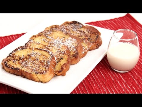 Eggnog French Toast Recipe – Laura Vitale – Laura in the Kitchen Episode 856
