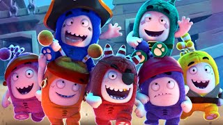 Oddbods Turbo Run - Pirate Fuse Christmas Fuse Halloween Fuse