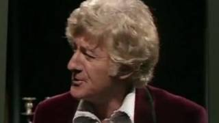 Exclusive first look: The Third Doctor and Wine - Doctor Who - Day of the Daleks