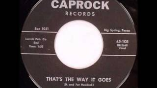 Durwood Daly - That's The Way It Goes