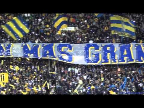 """""""""""Recibimiento"""" - Rosario Central (Los Guerreros) vs Gremio - Libertadores 2016"""" Barra: Los Guerreros • Club: Rosario Central"""