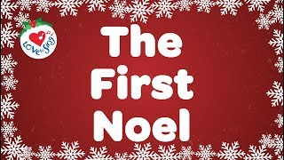 The First Noel with Lyrics | Christmas Song & Carol | Children Love to Sing
