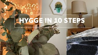10 INEXPENSIVE WAYS TO MAKE A HYGGE HOME // Cozy Styling Tips On A Budget (Our First Apartment!!)