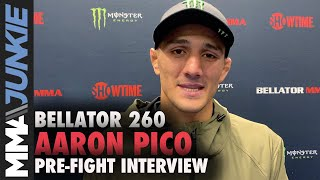 Aaron Pico details factors that attributed to recent evolution in MMA skills   Bellator 260