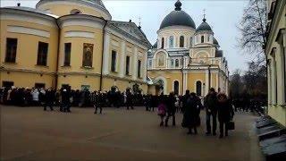 Покровский монастырь  Святая Матрона Московская  21 02 2016
