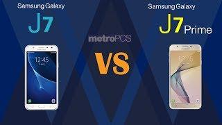 Samsung Galaxy J7  VS Samsung J7 Prime  - Metro PCS