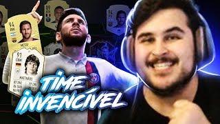 TIME INVENCÍVEL COM MESSI NA WL DO FIFA 20 Ultimate Team