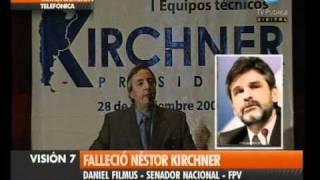 Visión Siete Falleció Néstor Kirchner 7