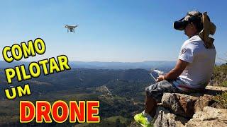 COMO pilotar um DRONE wanzam fpv