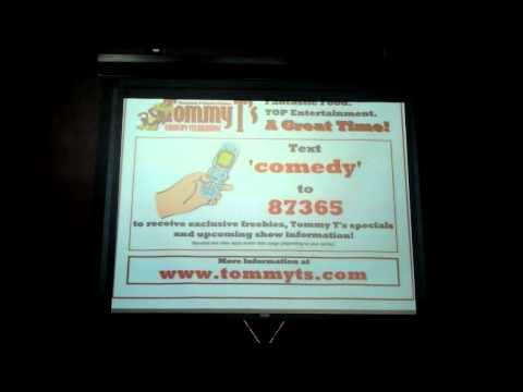 Tommy T's Comedy House Vmonial on Mobile marketing