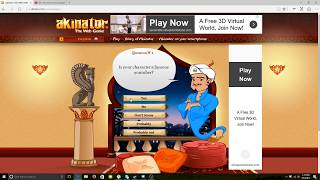 Playing Akinator This Thing Has To Be Cheating!!!