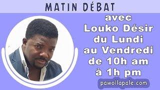 MATIN DÉBAT -Vendredi 21 septembre 2018 /Senatè Kelly C Bastien nan mikwo Louko Désir