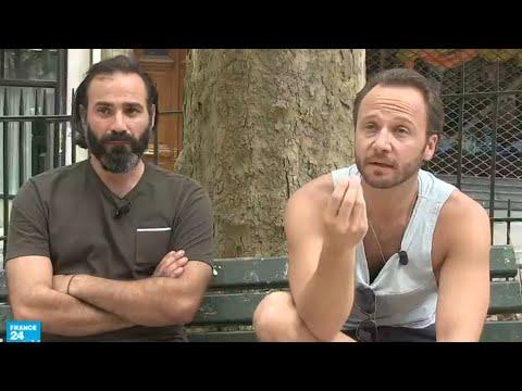 العرب اليوم - ممثلان سوريان يشاركان في مسلسل فرنسي يروي قصصًا عن اللاجئين