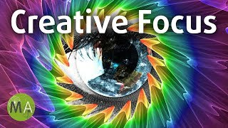 Creative Focus (Hybrid) Study Music Aid For Creativity - Isochronic Tones