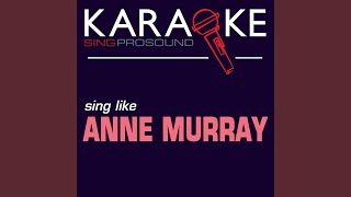 Blessed Are the Believers (Karaoke with Background Vocal) (In the Style of Anne Murray)