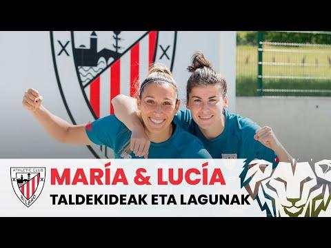 Lucía García & María Díaz, taldekideak eta lagunak I Elkarrizketa