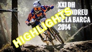 preview picture of video '**HIGHLIGHTS** DH Sant Andreu de la Barca 2014'