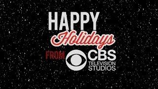 Daniela Ruah wish Happy Holidays on CBS 25/12/2014