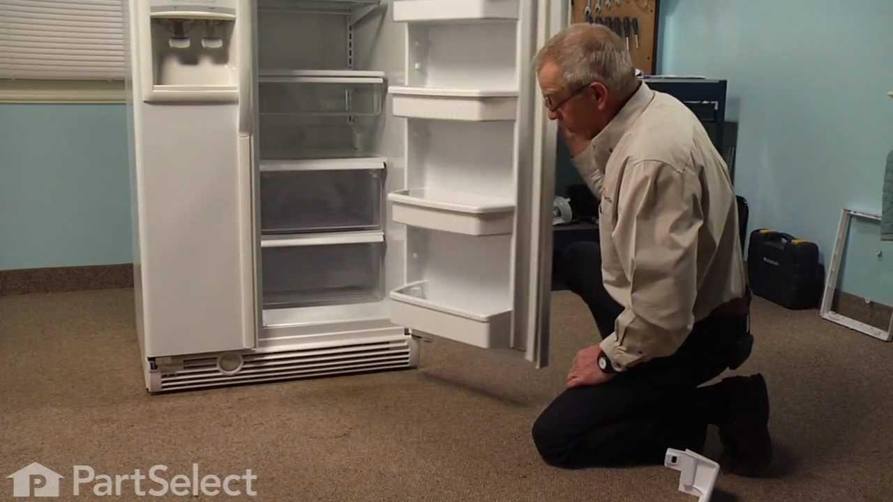 Replacing your Whirlpool Refrigerator Refrigerator Door Shelf