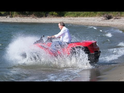 TOP GEAR Inside Look: Jeremy Clarkson's QuadSki in Lake Como – BBC AMERICA