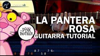 """Cómo Tocar """"LA PANTERA ROSA"""" En Guitarra Acústica COMPLETO (HD) Tutorial Riffs - Christianvib"""